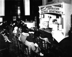 Belfast Corporation Electricity Dept seminar in 1930s