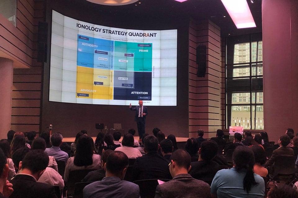 Ionology Digital Transformation Strategy Quadrant - Bangkok Stock Exchange